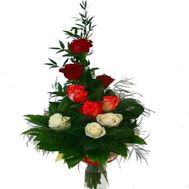 Bouquet of 9 roses - flowers and bouquets on roza.od.ua