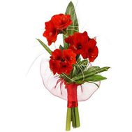 """Bouquet of Amaryllis"" in the online flower shop roza.od.ua"