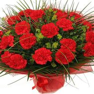 """Bouquet of red carnations"" in the online flower shop roza.od.ua"