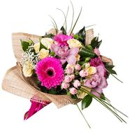 Bouquet of roses and orchids - flowers and bouquets on roza.od.ua