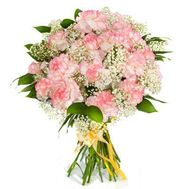 """Bouquet of pink carnations"" in the online flower shop roza.od.ua"