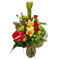 Bouquet to a colleague - flowers and bouquets on roza.od.ua