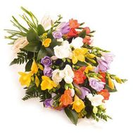 """Bouquet of 19 freesias"" in the online flower shop roza.od.ua"