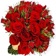 Букет роз Страсть - цветы и букеты на roza.od.ua
