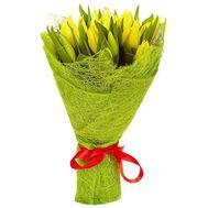 Букет желтых тюльпанов - цветы и букеты на roza.od.ua