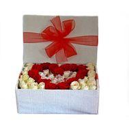 Гарячее сердце - цветы и букеты на roza.od.ua