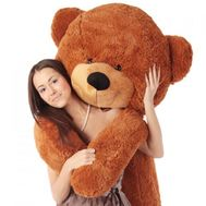 """Brown bear 2 m"" in the online flower shop roza.od.ua"
