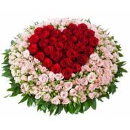 Basket of 131 roses - flowers and bouquets on roza.od.ua