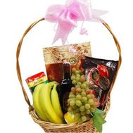 Basket with sweets - flowers and bouquets on roza.od.ua