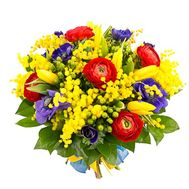 """Mimosa and Ranunculus"" in the online flower shop roza.od.ua"
