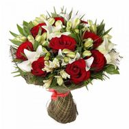 Unusual bouquet of flowers - flowers and bouquets on roza.od.ua