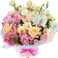 Delicate bouquet of flowers - flowers and bouquets on roza.od.ua