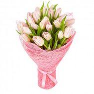 Нежный букет тюльпанов - цветы и букеты на roza.od.ua