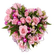 """New Years heart"" in the online flower shop roza.od.ua"