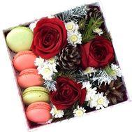 Новогодние сладости - цветы и букеты на roza.od.ua