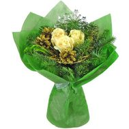 New Year Bouquet - flowers and bouquets on roza.od.ua