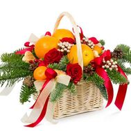 """New Years gift"" in the online flower shop roza.od.ua"