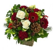 """New Years composition"" in the online flower shop roza.od.ua"