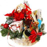 Новогодняя корзина - flowers and bouquets on roza.od.ua
