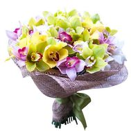 Bouquet of orchids - flowers and bouquets on roza.od.ua
