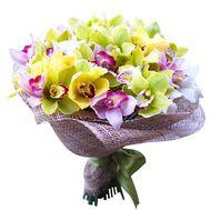 Букет из орхидей - цветы и букеты на roza.od.ua