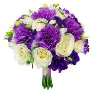 Ogiginalny bouquet with carnations - flowers and bouquets on roza.od.ua