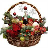 """""""Подарок к Новогоднему столу"""" в интернет-магазине цветов roza.od.ua"""