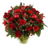 """Christmas bouquet"" in the online flower shop roza.od.ua"