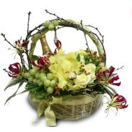 Happy New Year - flowers and bouquets on roza.od.ua