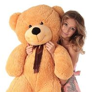 """Light brown bear 1,2 m"" in the online flower shop roza.od.ua"