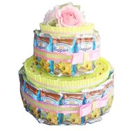 """Cake from Barney"" in the online flower shop roza.od.ua"
