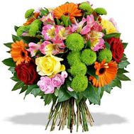 Funny bouquet of flowers - flowers and bouquets on roza.od.ua