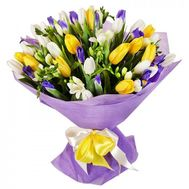 Spring bouquet - flowers and bouquets on roza.od.ua