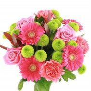 Bright bouquet of flowers - flowers and bouquets on roza.od.ua