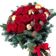 """New Years bouquet"" in the online flower shop roza.od.ua"