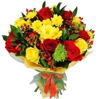 Какие цветы подарить бабушке - цветы и букеты на roza.od.ua