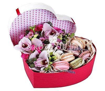 """Цветы с макарунс"" в интернет-магазине цветов roza.od.ua"