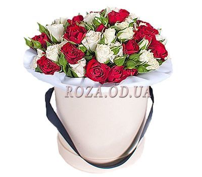 """Box of flowers"" in the online flower shop roza.od.ua"