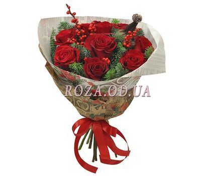 """New Years cocktail"" in the online flower shop roza.od.ua"