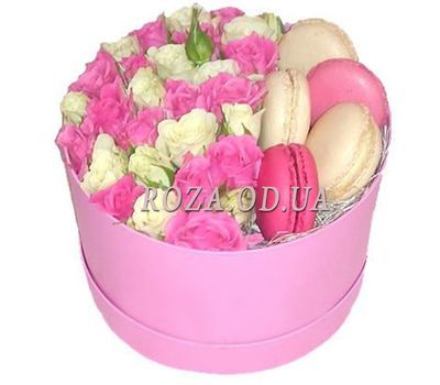 """Flowers in a box Odessa"" in the online flower shop roza.od.ua"