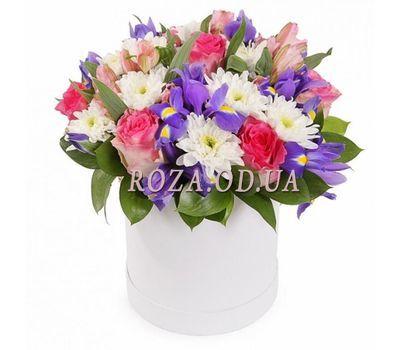 """""""Красивый букет в коробке"""" в интернет-магазине цветов roza.od.ua"""