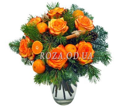 """Mandarin Bouquet"" in the online flower shop roza.od.ua"