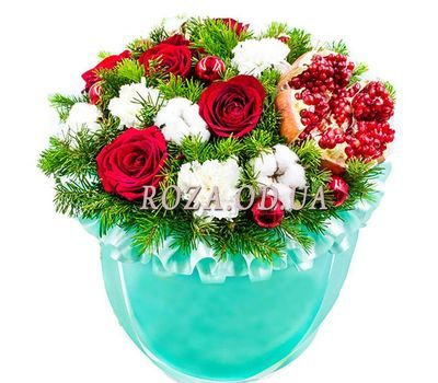 """Frosty January"" in the online flower shop roza.od.ua"