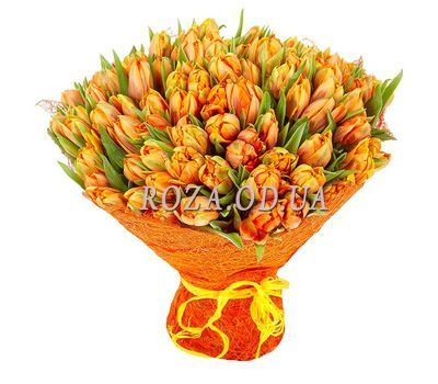 """Orange sun"" in the online flower shop roza.od.ua"
