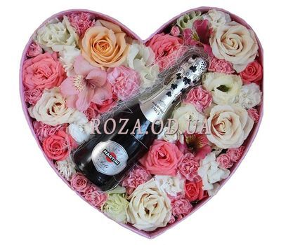 """Romantic evening"" in the online flower shop roza.od.ua"
