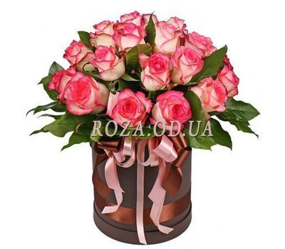 """Rose Jamila in the box"" in the online flower shop roza.od.ua"
