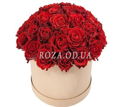 """Rosa Eltoro in the box"" in the online flower shop roza.od.ua"