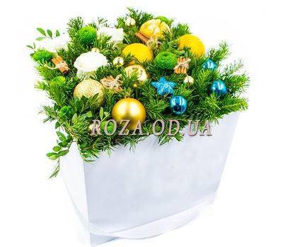 """Christmas fairy tale"" in the online flower shop roza.od.ua"