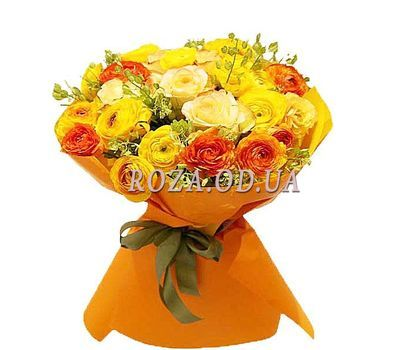 """Bright bouquet of Ranunculus"" in the online flower shop roza.od.ua"