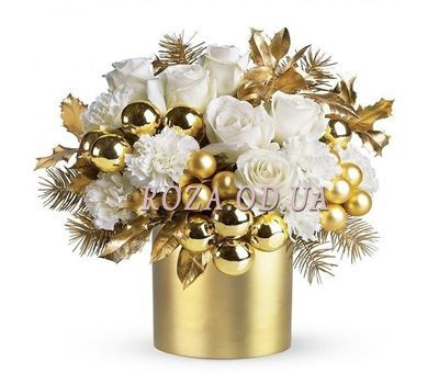 """Golden January"" in the online flower shop roza.od.ua"